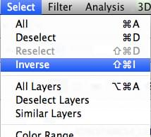 Inverse selection